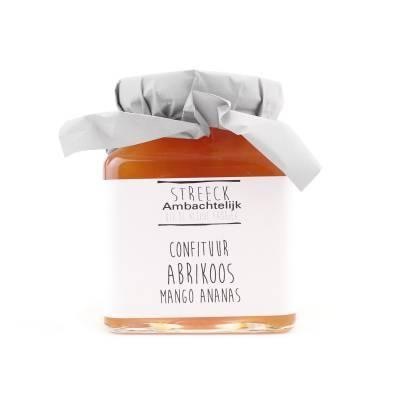 22804 - Streeck ambachtelijk confiture abrikoos mango 340 gram