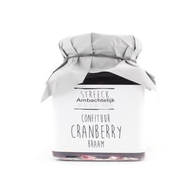 22806 - Streeck ambachtelijk confiture cranberry braam 340 gram