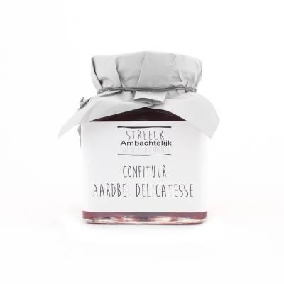 22807 - Streeck ambachtelijk confiture aardbeien 340 gram
