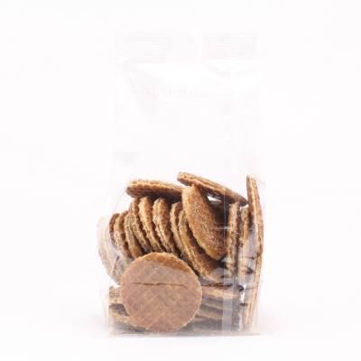 6480 - Des Noots mini stroopwafels blanco 200 gram