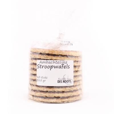 6481 - Des Noots stroopwafels 10 stuks blanco 315 gram