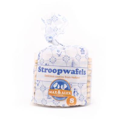 6483 - Stroopwafel & Co stroopwafels toefzak 8 stuks 250 gram