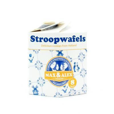 6489 - Stroopwafel & Co max&alex stroopwafels in hexa karton 250 gram