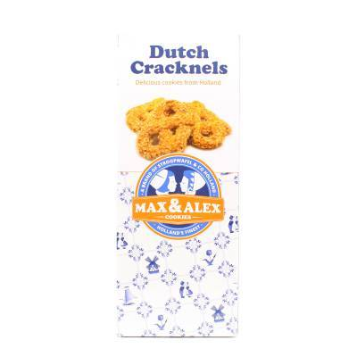 6490 - Stroopwafel & Co max&alex dutch cracknels 200 gram