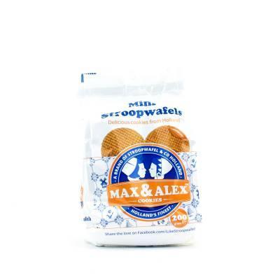 6494 - Stroopwafel & Co max&alex mini stroopwafels 200 gram