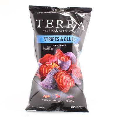 6281 - Terra stripes & blues chips 110 gram