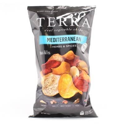 6283 - Terra mediterranean chips 110 gram