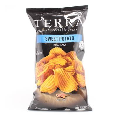6285 - Terra sweet potato chips 110 gram