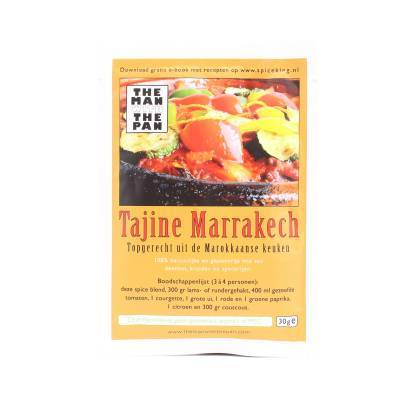 5972 - The Man with the Pan tajine marrakech sachet 30 gram