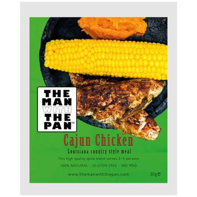 5974 - The Man with the Pan kip cajun sachet 30 gram