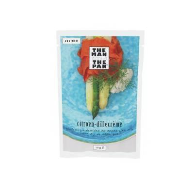5981 - The Man with the Pan aspergemix citroen dille creme sachet 10 gram