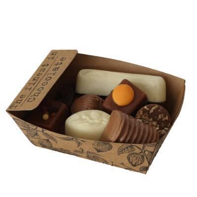 11935 - Des Noots bakje bonbons luxe 175 gram