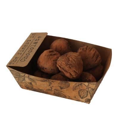 11936 - Des Noots bakje chocoladetruffels 175 gram