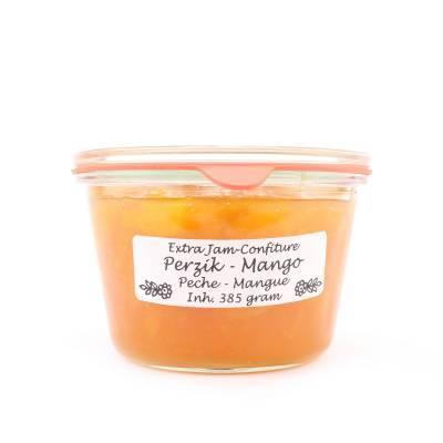 5012 - Theo van Woerkom confiture perzik en mango 385 gram