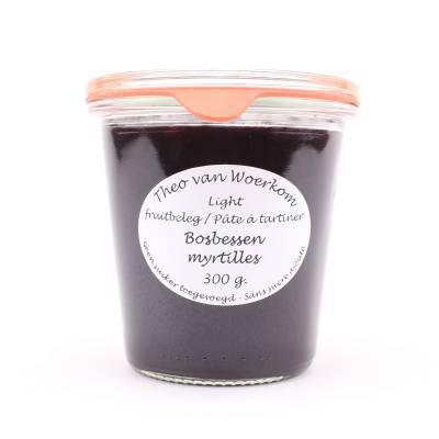 5032 - Theo van Woerkom fruitbeleg bosbessen 295 gram