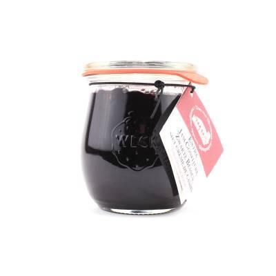 5078 - Theo van Woerkom confituren met likeur zwarte bes creme d 250 gram