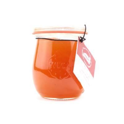 5080 - Theo van Woerkom confituren met likeur abrikozen 250 gram