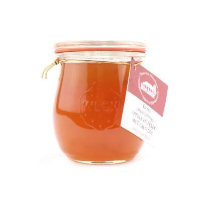 5083 - Theo van Woerkom confituren met likeur appel peer calvado 250 gram