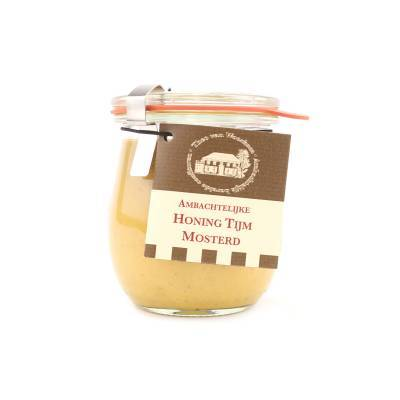 5089 - Theo van Woerkom honing tijm mosterd 200 gram