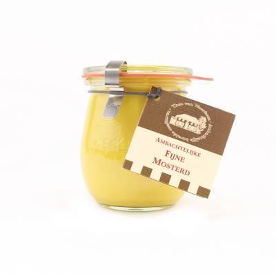 5091 - Theo van Woerkom fijne mosterd 200 gram