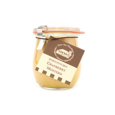 5093 - Theo van Woerkom cranberry mosterd 200 gram