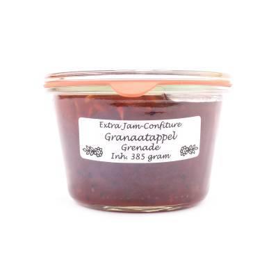 5112 - Theo van Woerkom confiture granaatappel 385 gram