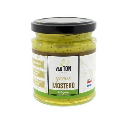 4100 - TonS Mosterd mosterd grof 170 ml