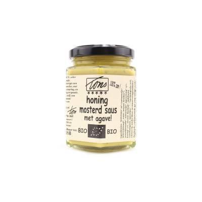 4135 - TonS Mosterd honingmosterd agavesaus 170 ml