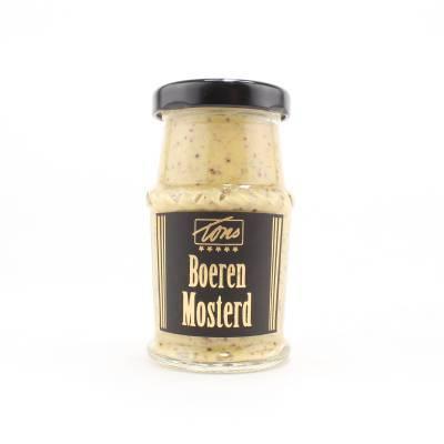 4164 - TonS Mosterd boeren mosterd 75 gram