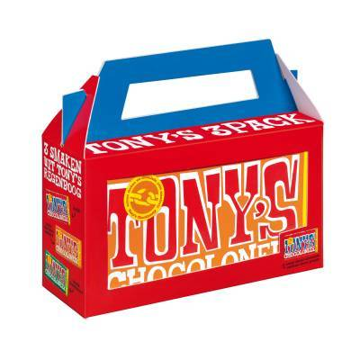 90111 - Tony's Chocolonely 3-pack 3x180 gram