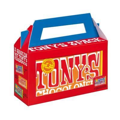 90111 - Tony's Chocolonely 3-pack 3x180 gram