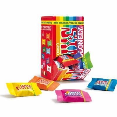 90093 - Tony's Chocolonely Tiny Tony Mix retail pack 200 gram
