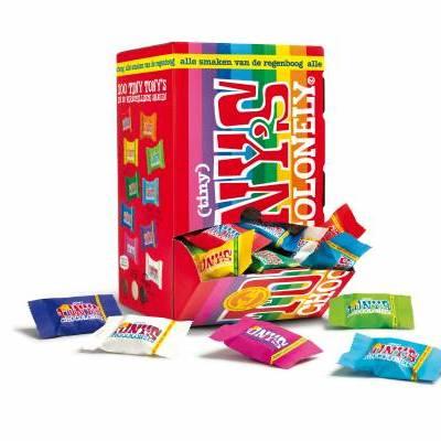 90094 - Tony's Chocolonely Tiny Tony Mix OOH pack 900 gram