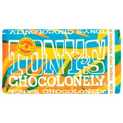 90102 - Tony's Chocolonely limited wit kurkuma kokos 180 gram