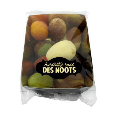 11916 - Des Noots bakje bonboneitjes assorti 175 gram