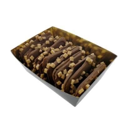 11921 - Des Noots bakje plaatjes caramel zeezout 175 gram