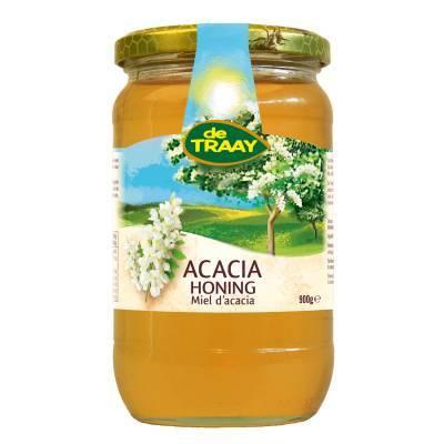 6326 - De Traay acacia honing 900 gram