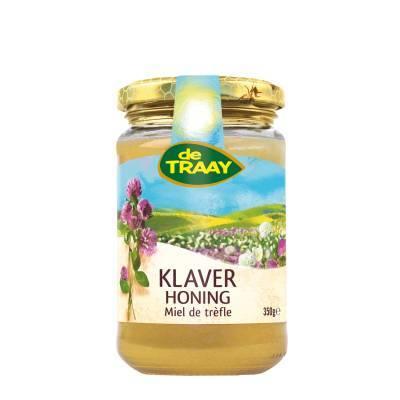 6331 - De Traay klaver honing 350 gram