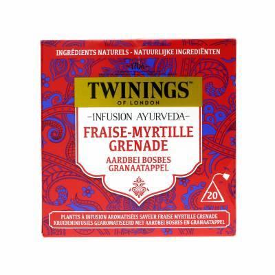 6092 - Twinings ayurveda aardbei bosbes granaatappel 20 TB