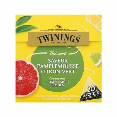 6094 - Twinings grapefruit lemon & lime 20 TB