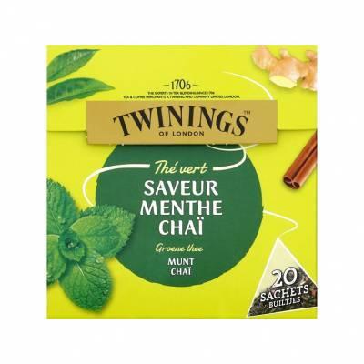 6096 - Twinings mint & chai 20 TB