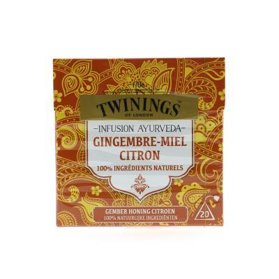 6104 - Twinings ayurveda gember honing citroen 20 TB