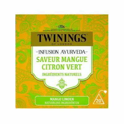 6116 - Twinings ayurveda mango limoen 20 TB