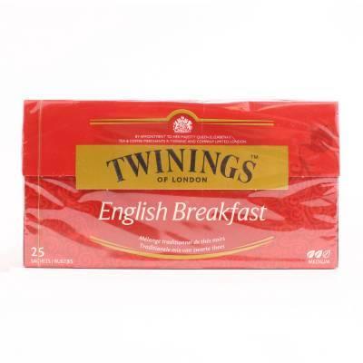 6121 - Twinings english breakfast 25 TB