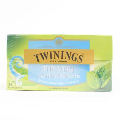 6141 - Twinings green mint 25 TB