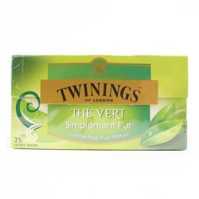 6144 - Twinings simply pure green 25 TB