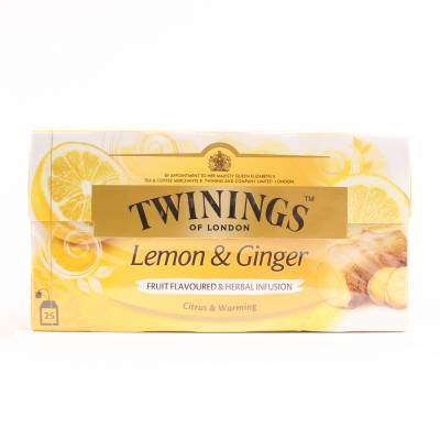 6155 - Twinings lemon & ginger 25 TB