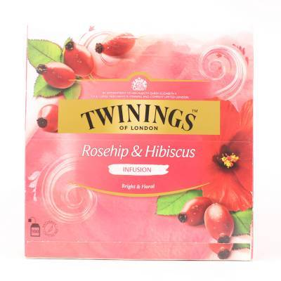 6169 - Twinings rosehip and hibiscus 100 TB
