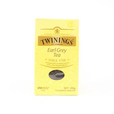 6172 - Twinings earl grey - losse thee 100 gram