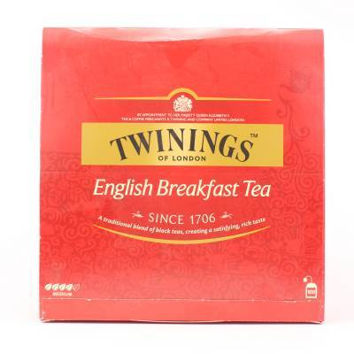 6177 - Twinings english break fast 100 TB